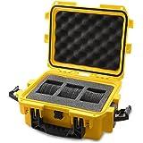 Invicta IG0097-SM1S-Y 3 Slot Yellow Plastic Watch Box Case