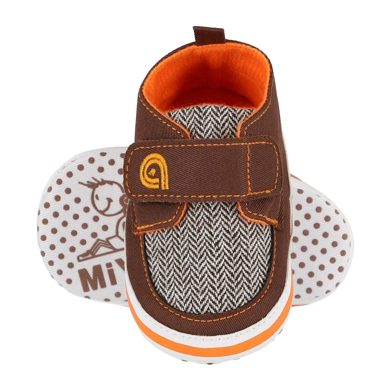KREXUS Lauflernschuhe f/ür Jungen Baby Sneaker Baby Turnschuhe Krabbelschuhe f/ür Baby Baby Schuhe Baby Junge Turnschuhe Jungen 0-18 Monate