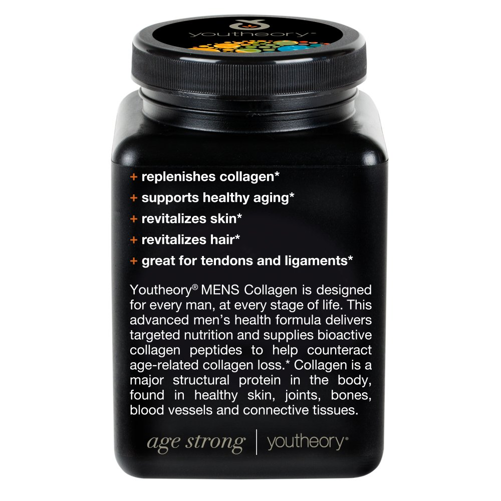 Youtheory Mens Collagen Advanced 1and 3, 290 Count: Amazon.es: Salud y cuidado personal