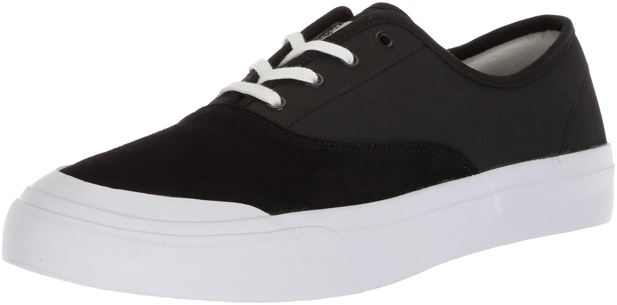 HUF Men's Cromer Skate Shoe, Black Truffle, 9.5 Regular US by HUF