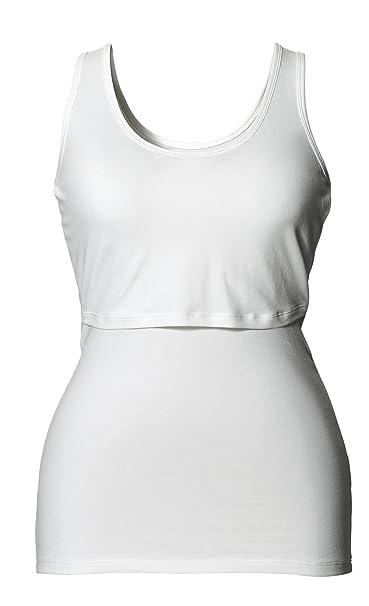 6a1bf2a502e Boob Organic Cotton Maternity Nursing Singlet Tank Top at Amazon Women's  Clothing store: