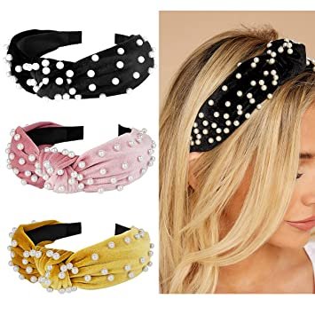 Girls Hair Accessories For School Black Alice Bands Headbands Bandeaux