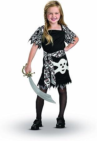 RubieS I-883792S - Disfraz de pirata para niña (3 años) (talla S ...