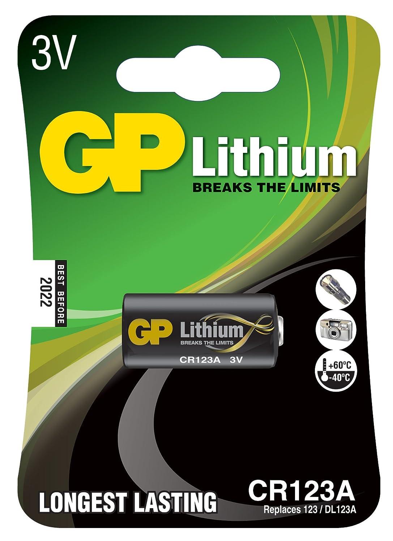 Ukdapper - 1箱10カードGP電池写真リチウム非充電式CR123Aバルク   B002DG6UTY