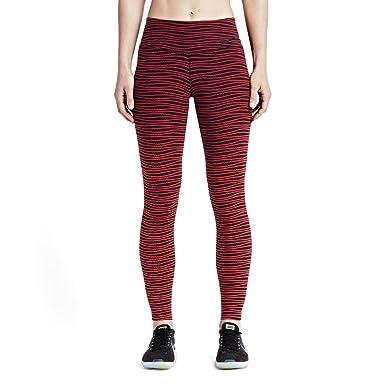 Nike Legendary Engineered Swell Womens Training Pants (X-Small, Red/Black)