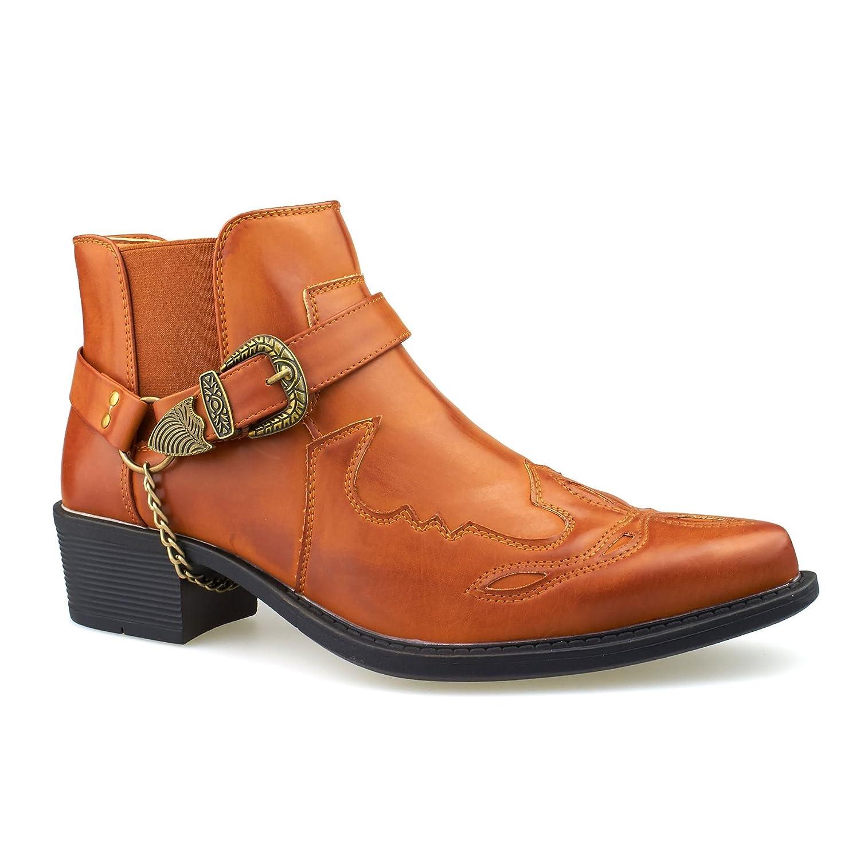 Footwear Vaquero De Botas Hombre 15842 Canela London HSqBxtdwBf