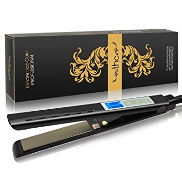 amazon com hair straightener chimocee newest professional 1 inch