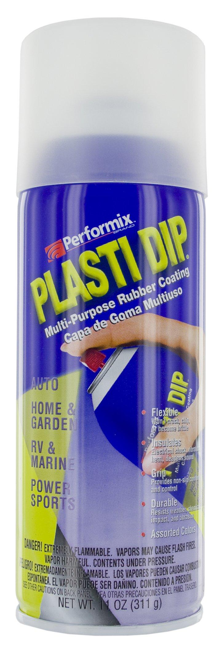 Plasti Dip Performix 11209 Clear Multi-Purpose Rubber Coating Aerosol - 11 oz.