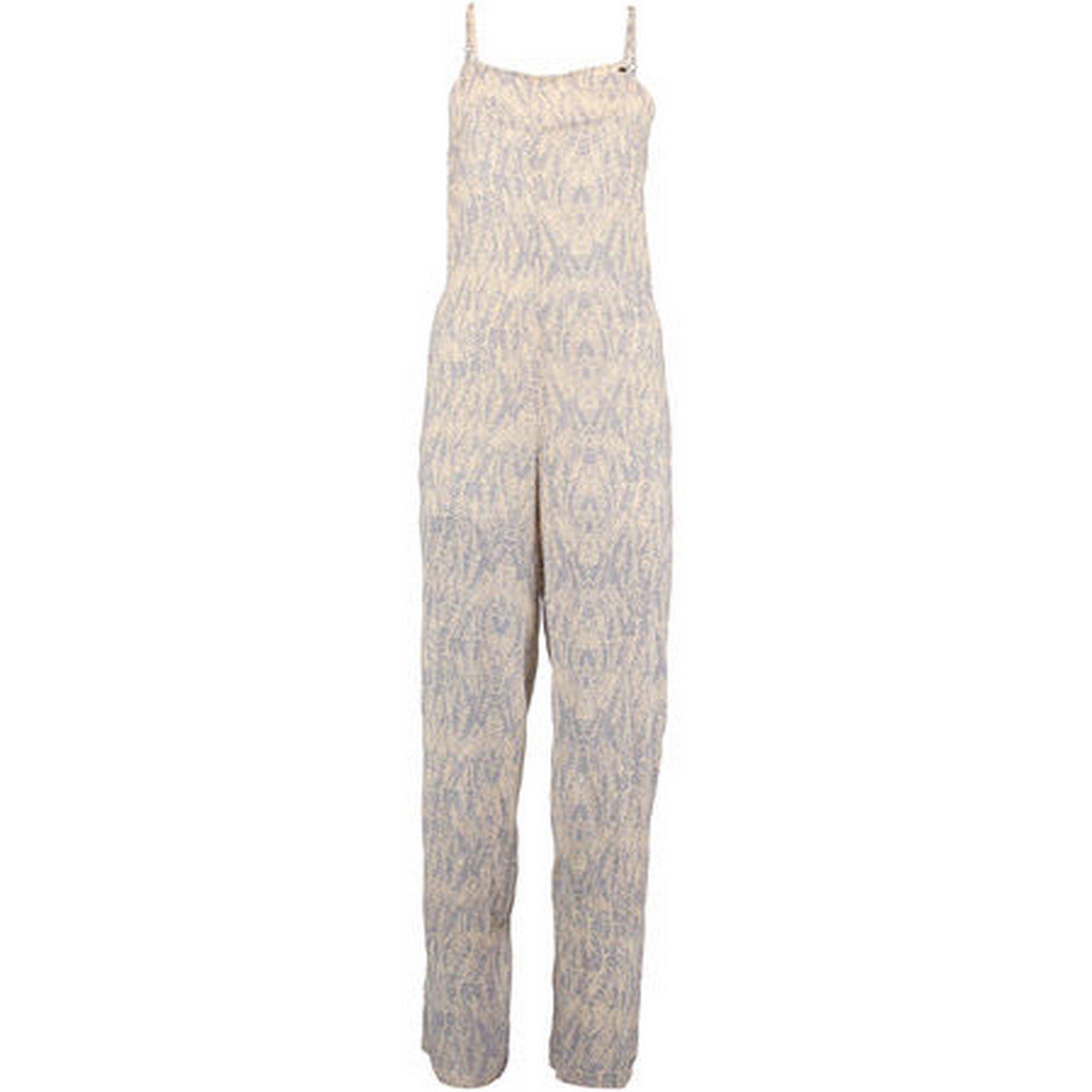 O'Neill Womens/Ladies Print Palazzo Jumpsuit (XL) (Blue/White)