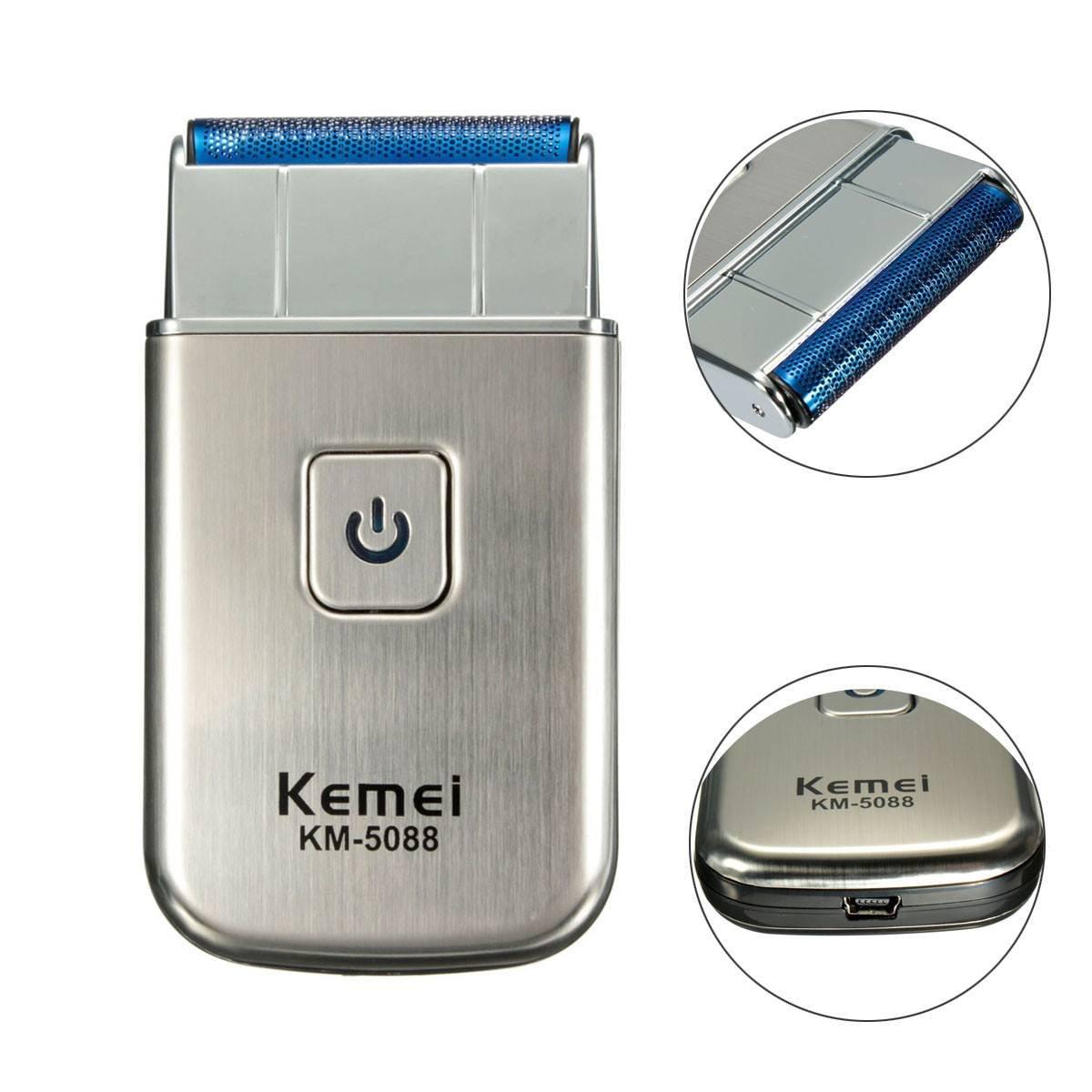 Electric shaver LuckyFine Men's Pocket USB Rechargeable Electric Foil Shaver Beard Razor For Travel AHGRD005735