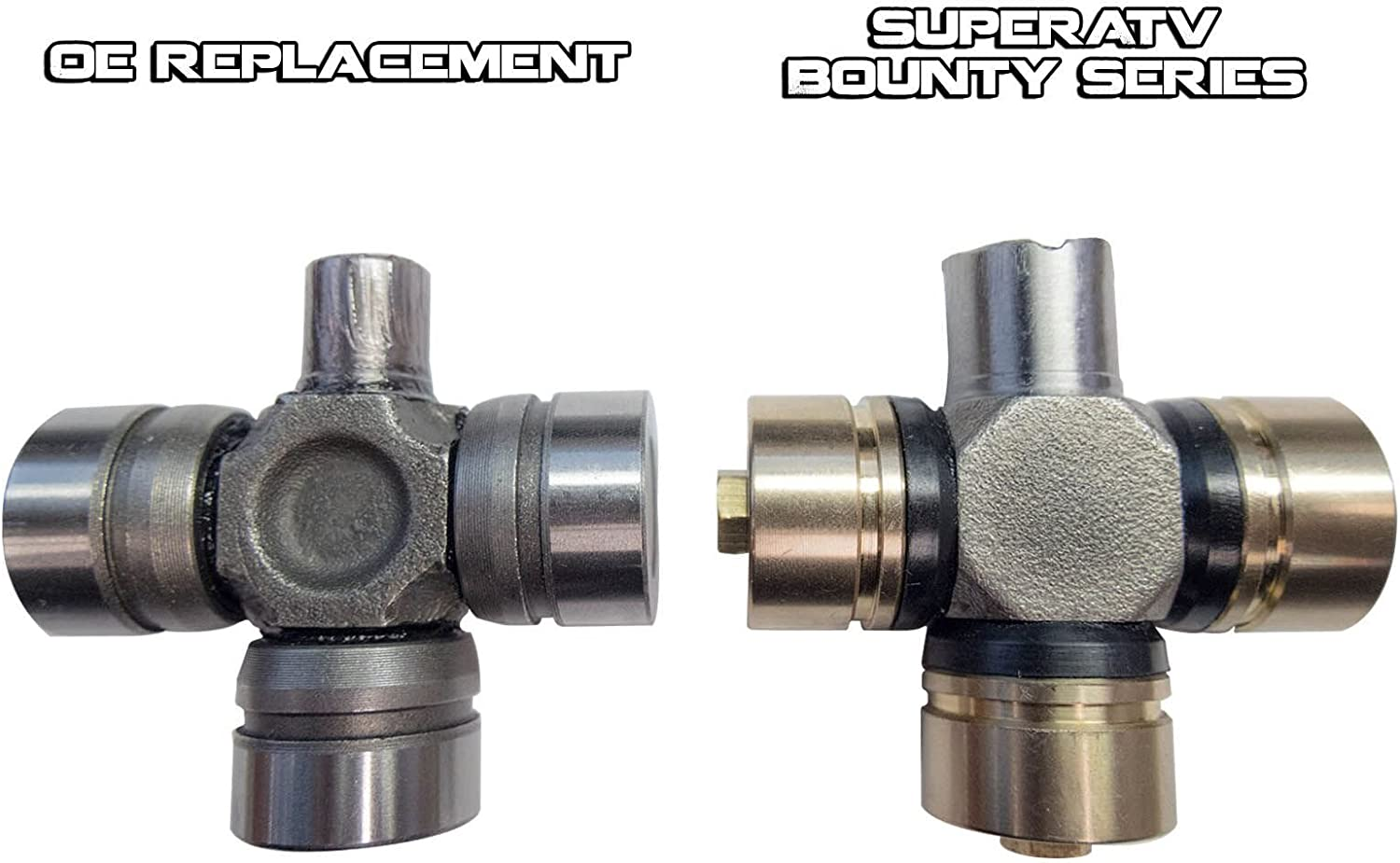 Ace//Sportsman SuperATV Heavy Duty U Joint//Spider Joint Prop Shaft Replacement//Upgrade for Polaris RZR 800 900 1000 Turbo//Ranger 570 800 900 1000 See Fitment