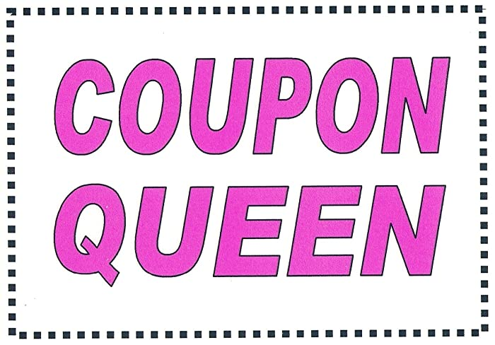 Amazon com: Funny Coupon Refrigerator Magnet COUPON QUEEN  FREE