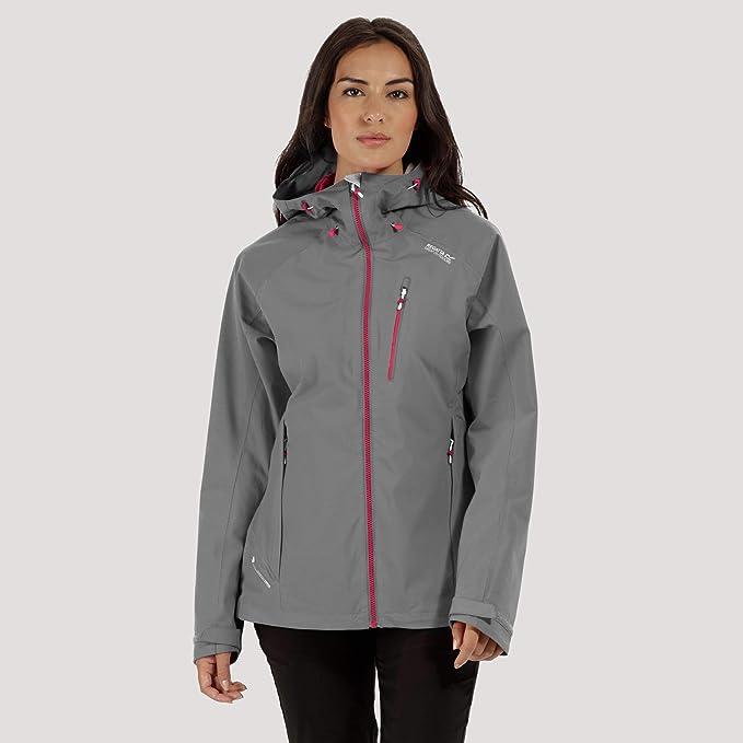 Regatta Damen Birchdale Waterproof and Breathable Shell Jacke: Odzież
