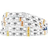 BTF-LIGHTING 5050 RGBW RGB+Whtie Strip 4 in 1 5M 16.4ft 60leds/m IP30 Non-Waterproof Mixed Color led Strip