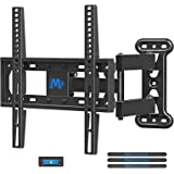 Mounting Dream UL Certificated TV Mount Full Motion for 26-55 Inch LED,LCD,OLED Flat Screen TV, Perfect Center Design, TV Wall Mount Bracket with Articulating Arm up to VESA 400x400mm, 60 lbs, MD2377