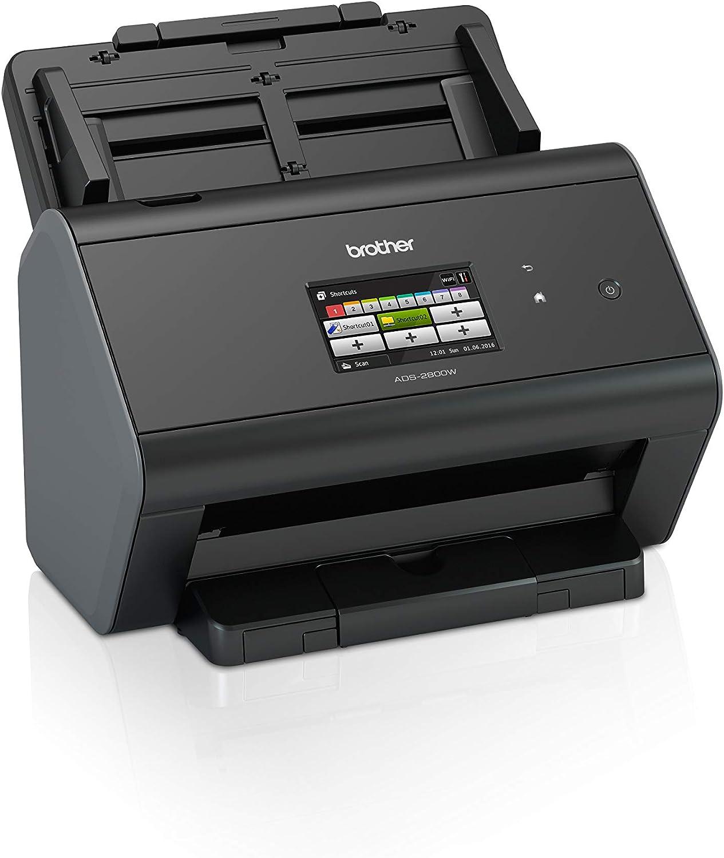 Brother ADS2800W - Escáner departamental de alta velocidad (doble ...