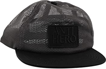 c3919cc66b7a0 Anti Hero Skateboards Reserve Charcoal Black Mesh Trucker Hat - Adjustable