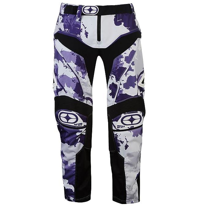 No Fear Hombre Pantalones De Motocross Técnicos Negro S ...