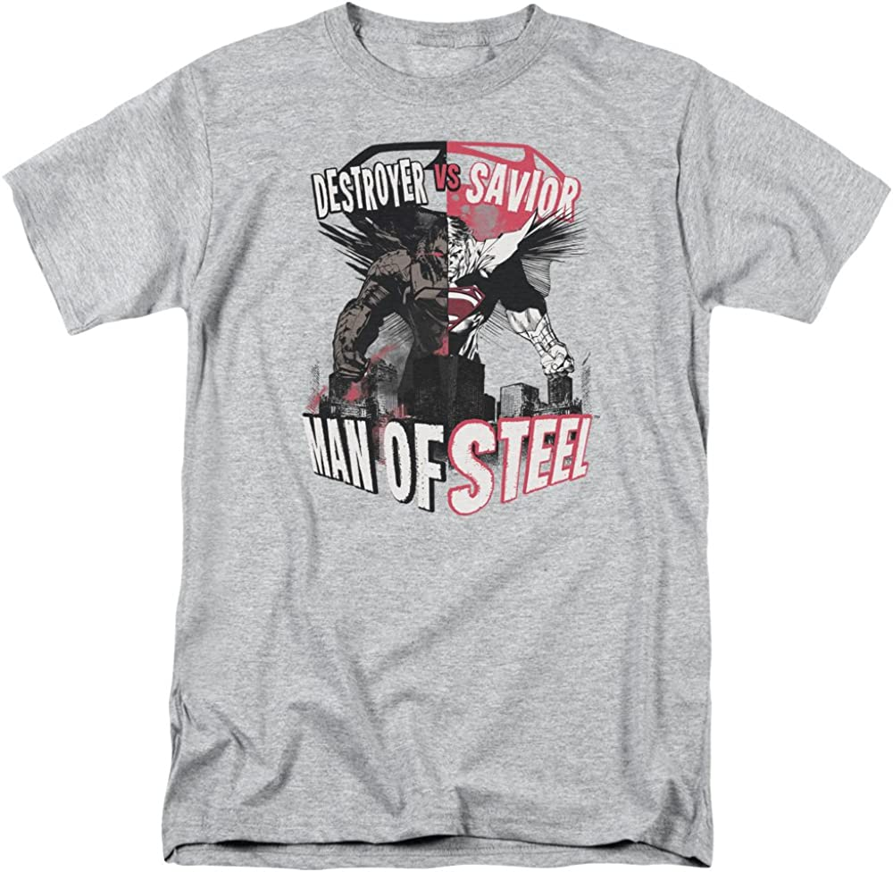 Trevco Man Of Steel American Man T Shirt Size S