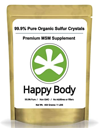 organic MSM crystals for allergy treatment with fasting