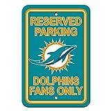 Fremont Die NFL Miami Dolphins Reserved Parking