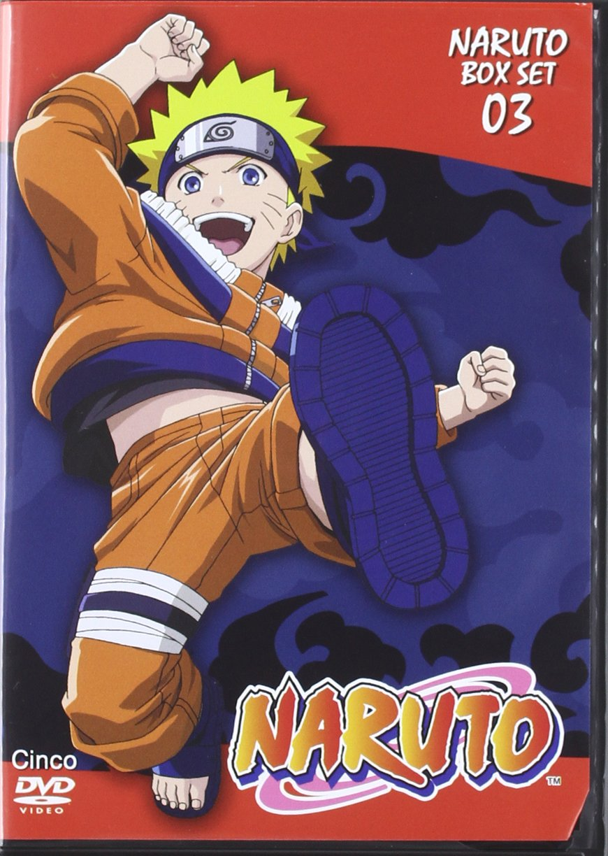 Amazon.com: Pack Naruto 3ª Temporada (5 Dvd): Movies & TV