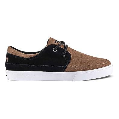 éS Footwear - Zapatillas de Piel para hombre marrón Brown/Gum US, color blanco, talla 6 US