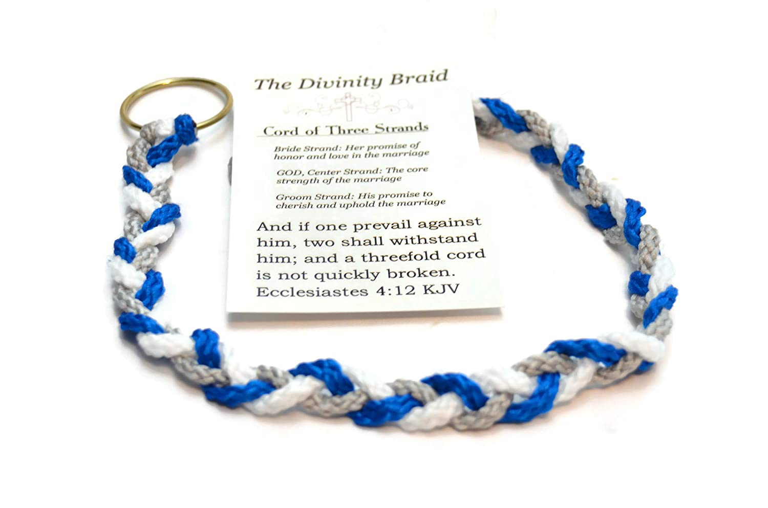 Divinity Braid Cord of Three Strands Royal Theme