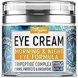 MARYANN Organics Eye Cream - Natural Formula with Hyaluronic Acid, Vitamin E & Aloe Vera - Made in USA - Anti Aging…