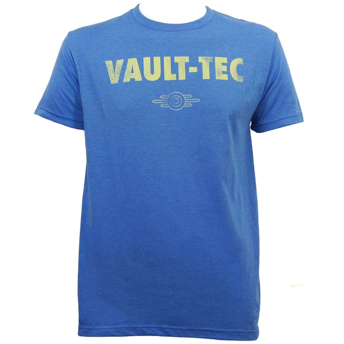 Fallout Vault Tec Heather Blue T-Shirt