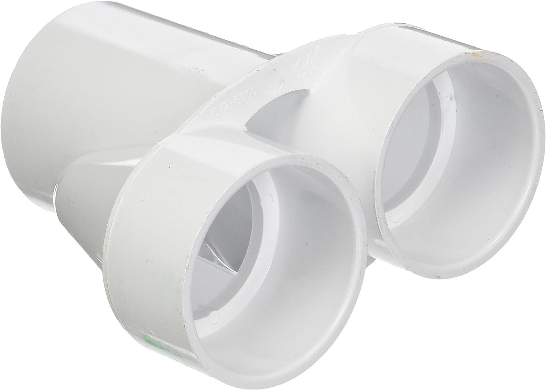 """1-1//2/"""" Slip Ports 672-8040 Hot Tub Basics1.5/"""" PVC Manifold Wye//Y"""