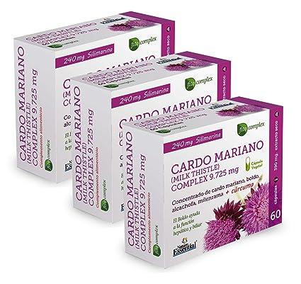 CARDO MARIANO (COMPLEX) 9.525 MG. (EXT. SECO) 60 CAPSULAS - Nature Essential (Pack 2 u.)