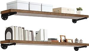 TEN49 Industrial Wood Shelf - 48