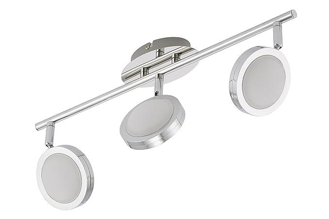 Trango 3 focos de techo tg2031 – 038 – Lámpara LED de techo diseño