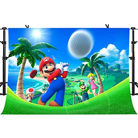 Amazon com : Cartoon Background Super Uncles Playing Golf