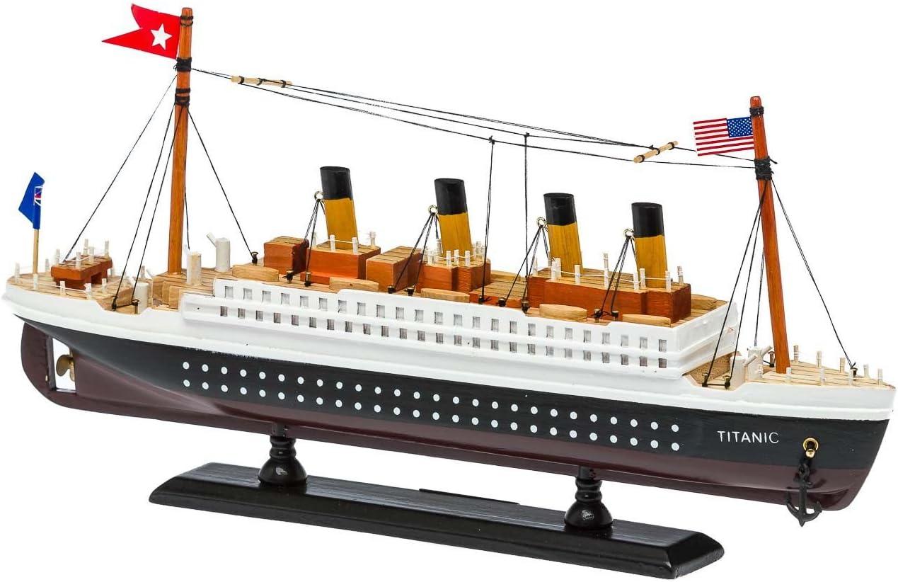 Modello di nave Titanic modello di nave di legno della nave 35 centimetri Ship