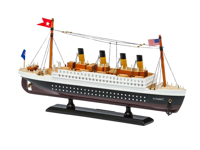 Modello di nave Titanic modello di nave di legno della nave 35 centimetri Ship aubaho