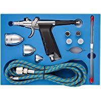 Fy-Light SP166AK Professional Dual Action Airbrush Kit with 0.2/0.3/0.5mm Needles & 2cc/5cc/13cc CUP Trigger Air Paint…