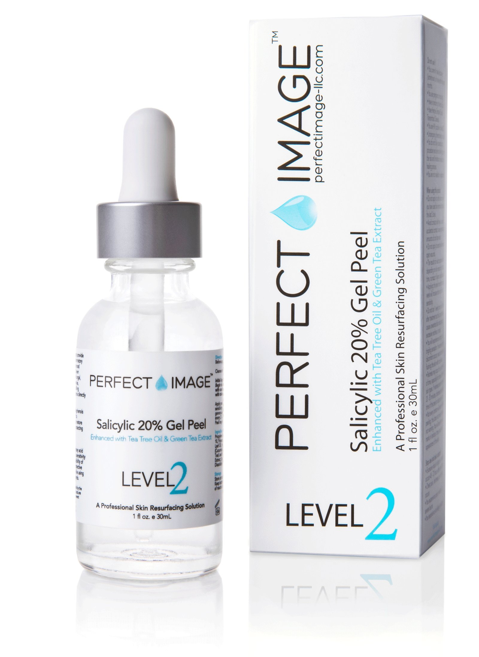 Salicylic Acid 20% Gel Peel - Enhanced with Tea Tree Oil & Green Tea Extract by Perfect Image