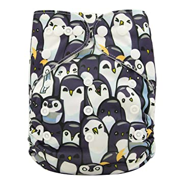 Rock and roll print Alternative nappy Birth to potty Pocket nappy or all in one option