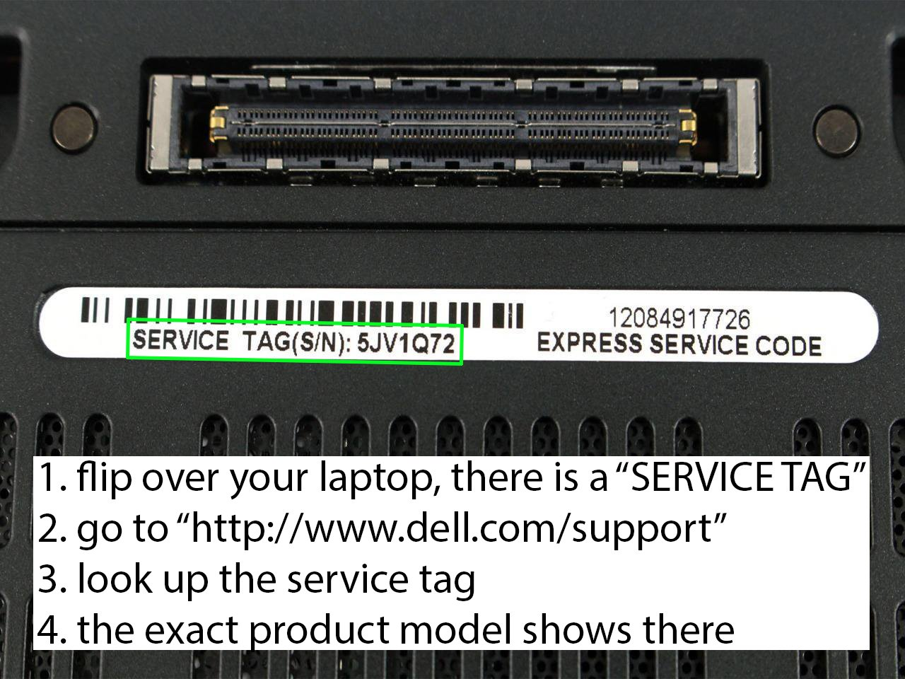 Amazon.com: DELL Inspiron 15 3531 Laptop SERVICE-TAG 1M64H22 EXPRESS-SERVICE -CODE 3517324634 Original Standard 65w Laptop Charger Power Cord: Computers  & ...