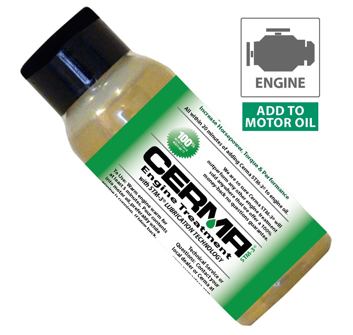 Cerma Gas Ceramic Engine Treatment 4 to 8 Cyl Cerma Treatment CE-1