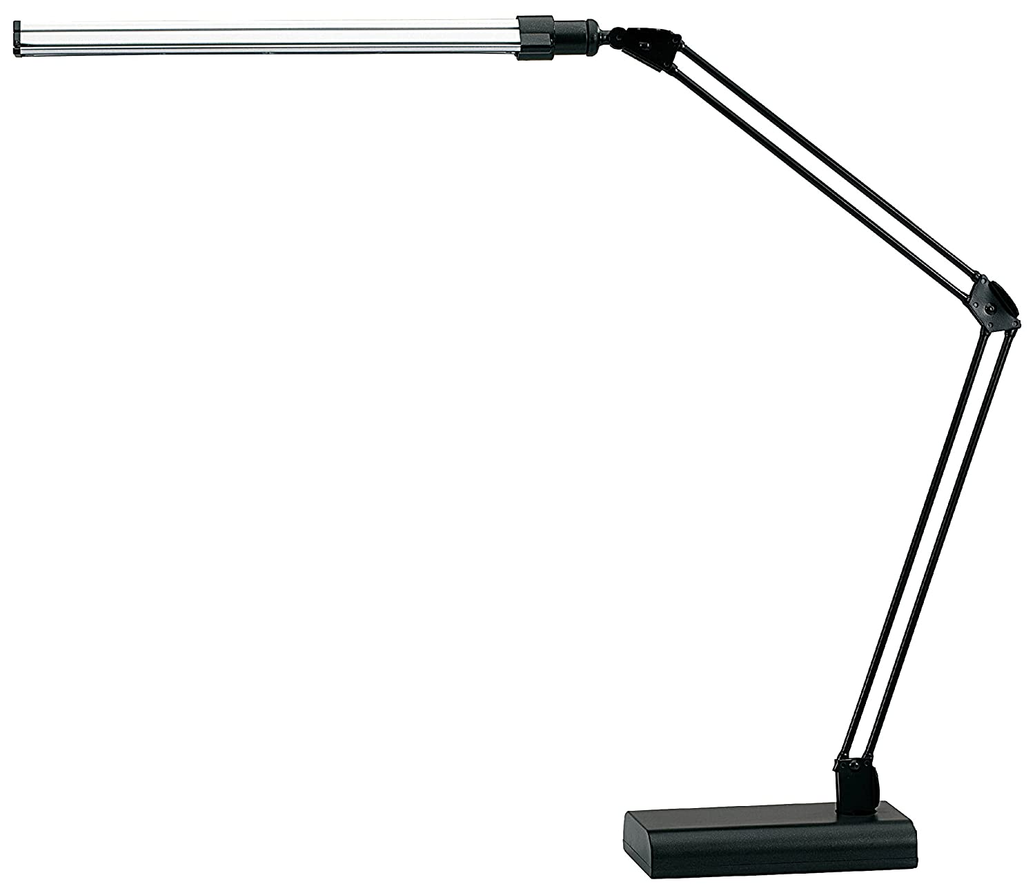 Amazon v light led energy efficient ultra slim desk lamp with amazon v light led energy efficient ultra slim desk lamp with adjustable arms vsl188nc office products geotapseo Images