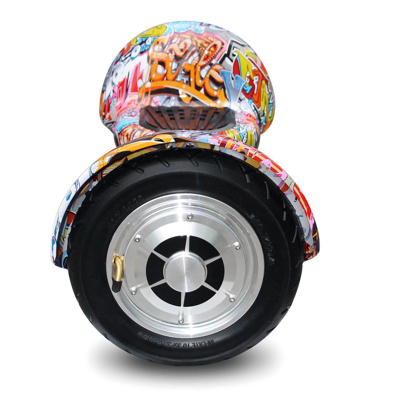 Cool&Fun Hoverboard Patinete Eléctrico Scooter Monopatín Eléctrico Auto-Equilibrio Patín de 10