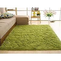 yiiena Super Soft Comfy Rugs for Living Room Bedroom Area Indoor Modern Fluffy Rugs Decor Home Decorative Carpet Floor Shag Rug