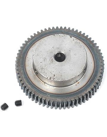 GZYF 1 Módulo 65T 12 mm Motor de taladro Metal 45# rueda de engranaje de