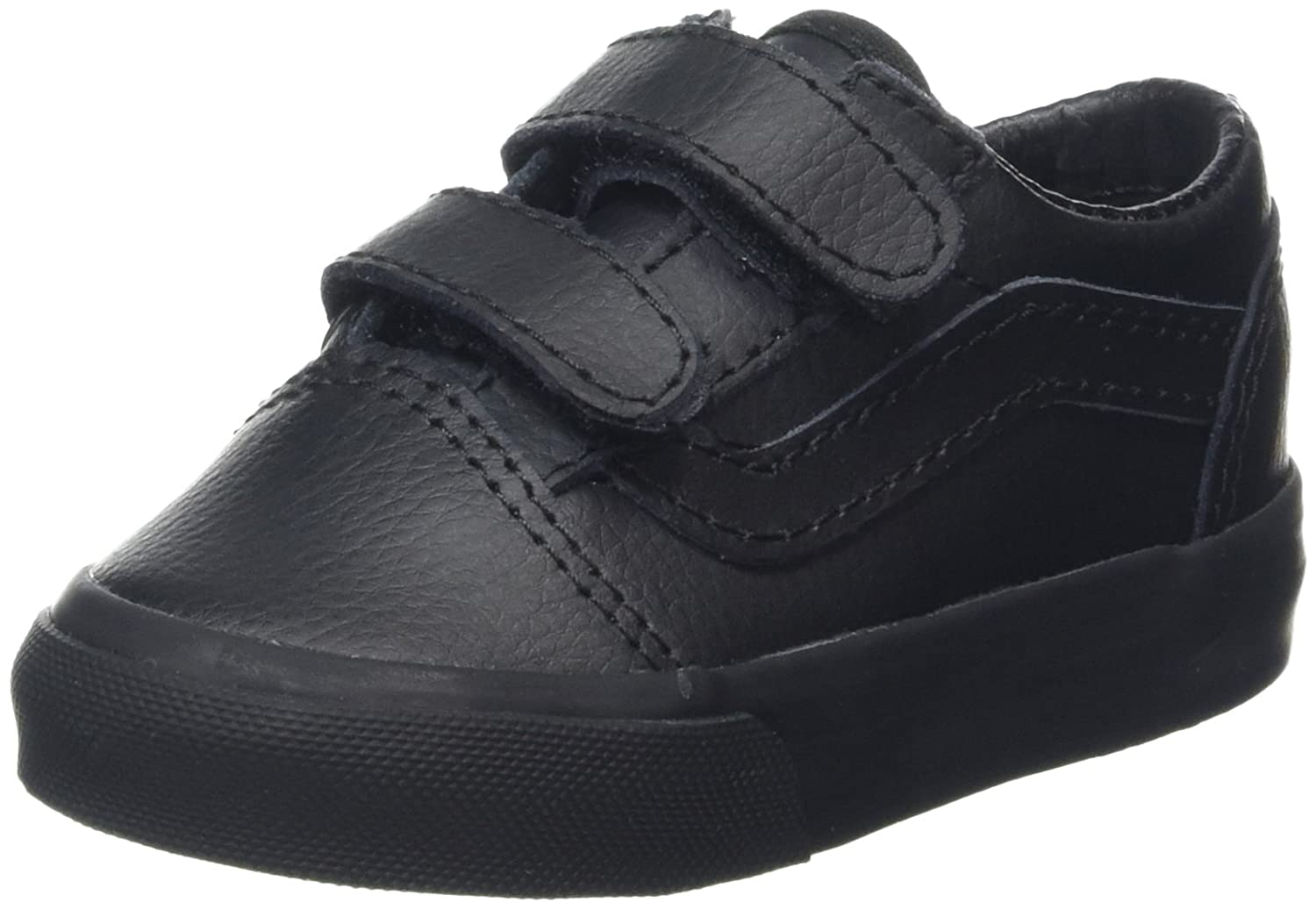 Vans Old Skool V, Botines de Senderismo para Bebés, Negro (Leather Black), 20 EU: Amazon.es: Zapatos y complementos