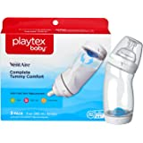 Playtex Baby BPA-Free VentAire Baby Bottles with Unique Anti-Colic Back Venting System, 9 Ounce, Pack of 3 Baby Bottles