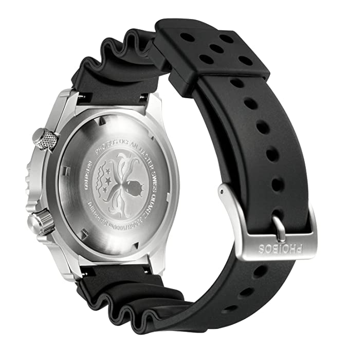 PHOIBOS Buzo Hombres Reloj Término Análogo Cuarzo PX005C: Amazon.es: Relojes