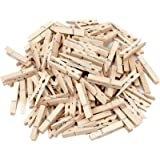 """Generic Sturdy Natural Wood Clothespins 1 3/4""""-100/pkg"""